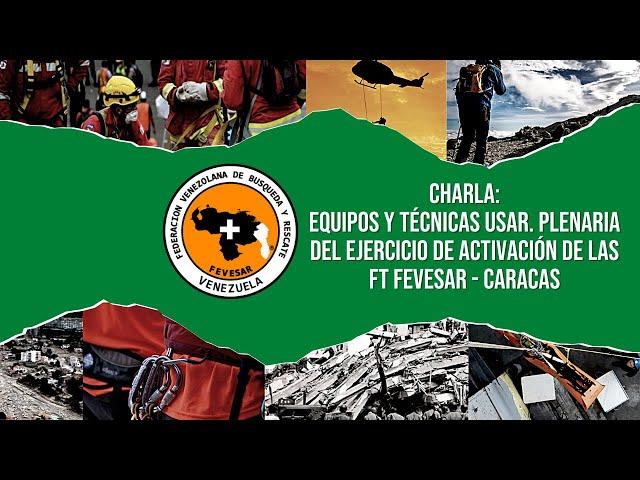 Plenaria del Ejercicio de Activación de las Fuerza de Tareas FEVESAR - Caracas