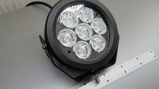 Дополнительные светодиодные фары LED М11 - 70 W Spot (дальний свет )(Дополнительные светодиодные фары LED М11 - 70 W Spot (дальний свет ) на светодиодах XM-L2 , эта фара светит ярче , чем..., 2015-05-13T21:53:00.000Z)