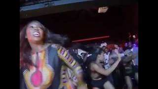 Tiwa Savage and Kaffy Twerk