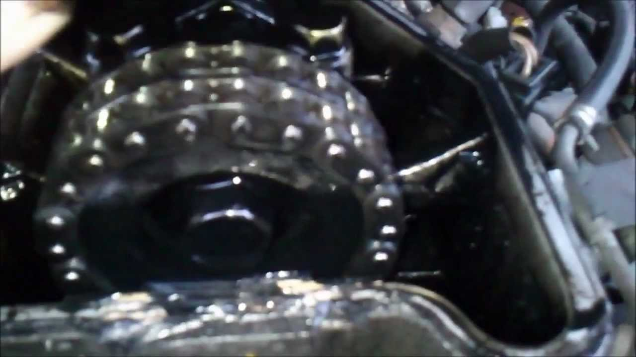 Pajero 2 8 Timing Chain Inspection Youtube