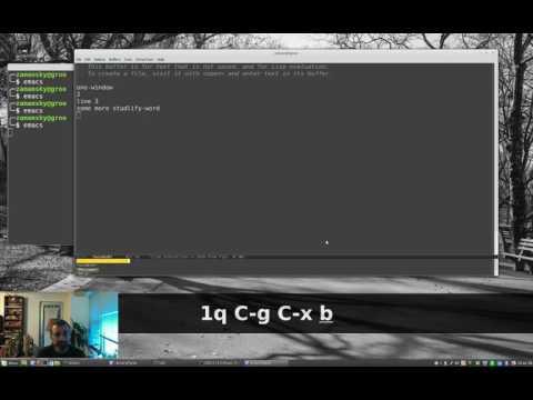 Using Emacs - 16 - Undo Tree