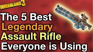 The Best Legendary Assault Rifles in Borderlands 3 Top 5 list