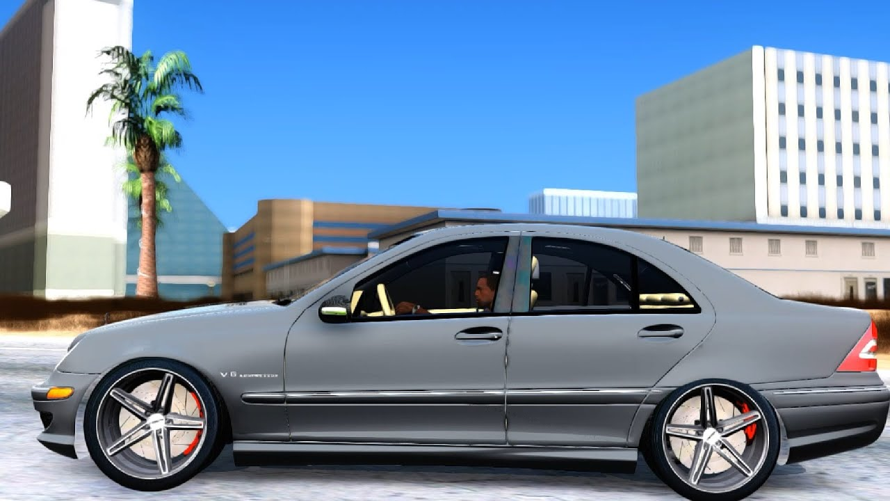 gta san andreas 2004 mercedes benz c32 amg vossen v1 0. Black Bedroom Furniture Sets. Home Design Ideas