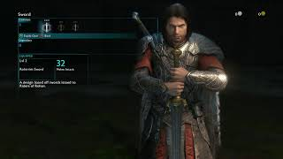 Middle Earth Shadow Of War Get Equip Sword Of Dominion