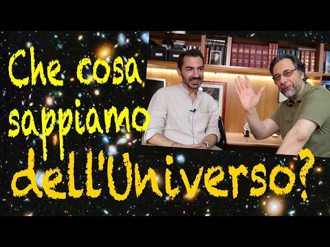 Che cosa sappiamo dell'Universo - Ne parliamo con Amedeo Balbi
