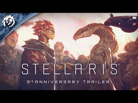 Stellaris 3rd Anniversary - Free Weekend, Sales, and a free e-book