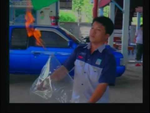 ตะลึง! เถ้าแก่อู่ซ่อมรถเจาะบาดาล แก๊สพุ่ง!!!
