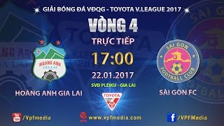 full  hoang anh gia lai vs sai gon 1-1  vong 4 v league 2017