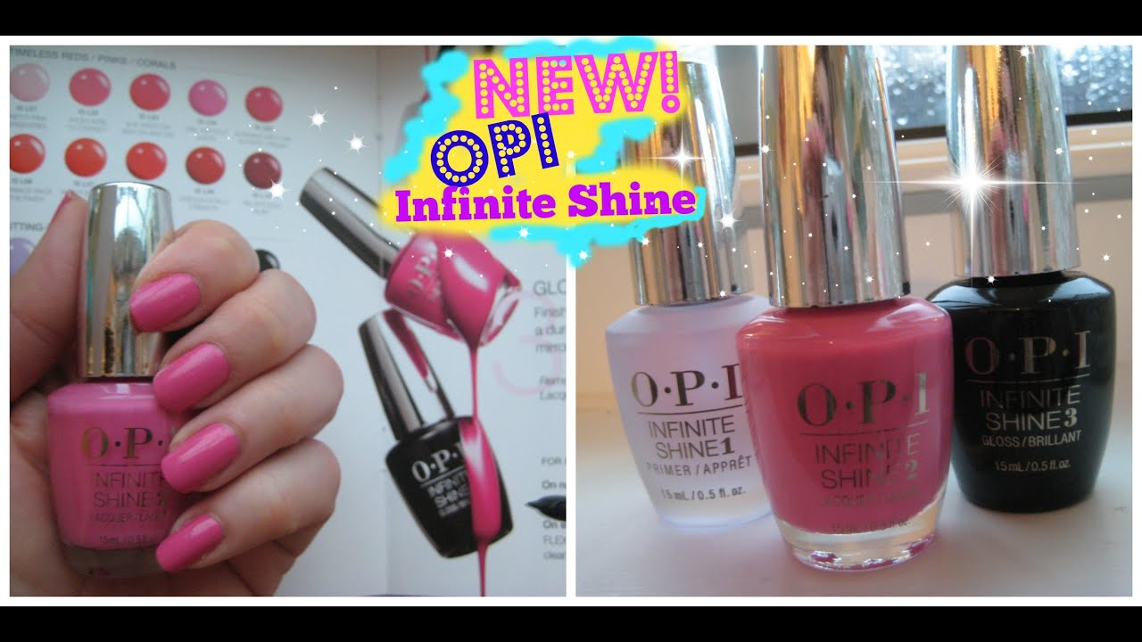 New OPI Infinite Shine Review - YouTube