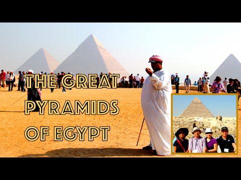 Wanderful: The Great Pyramids of Egypt | Giza, Egypt