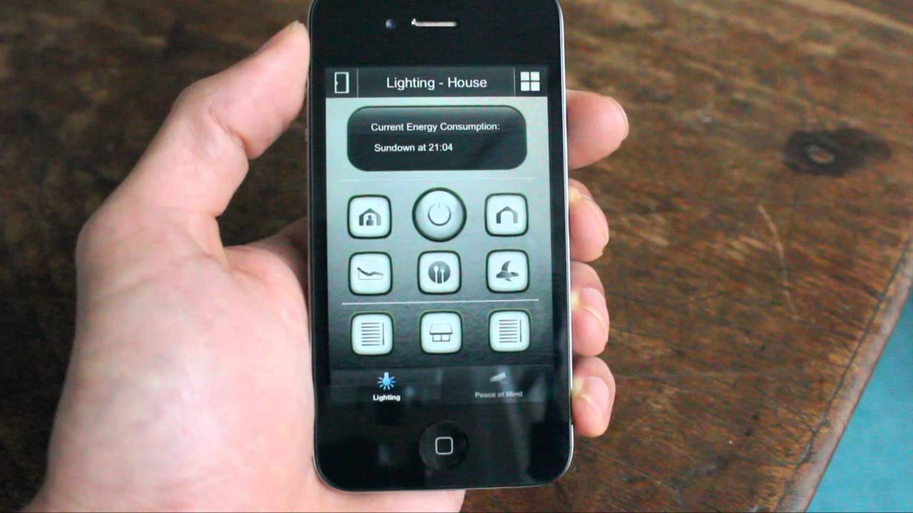 OpenRemote iPhone Navigation - YouTube