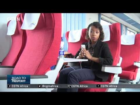 A sneak preview of Kenya's new passenger train