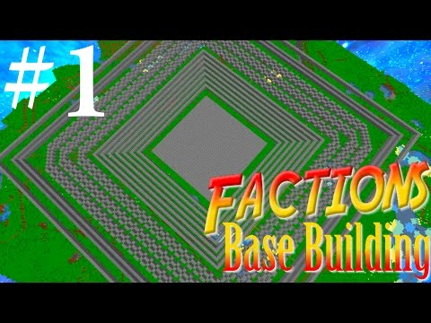 BASE LAYOUT!!! Minecraft Factions Base Building #1 w/ TheProVidz