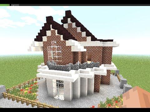 Minecraft como hacer una linda casa moderna en minecraft for Como disenar una casa moderna