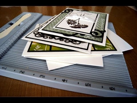 Crack-Free Cardstock Folding