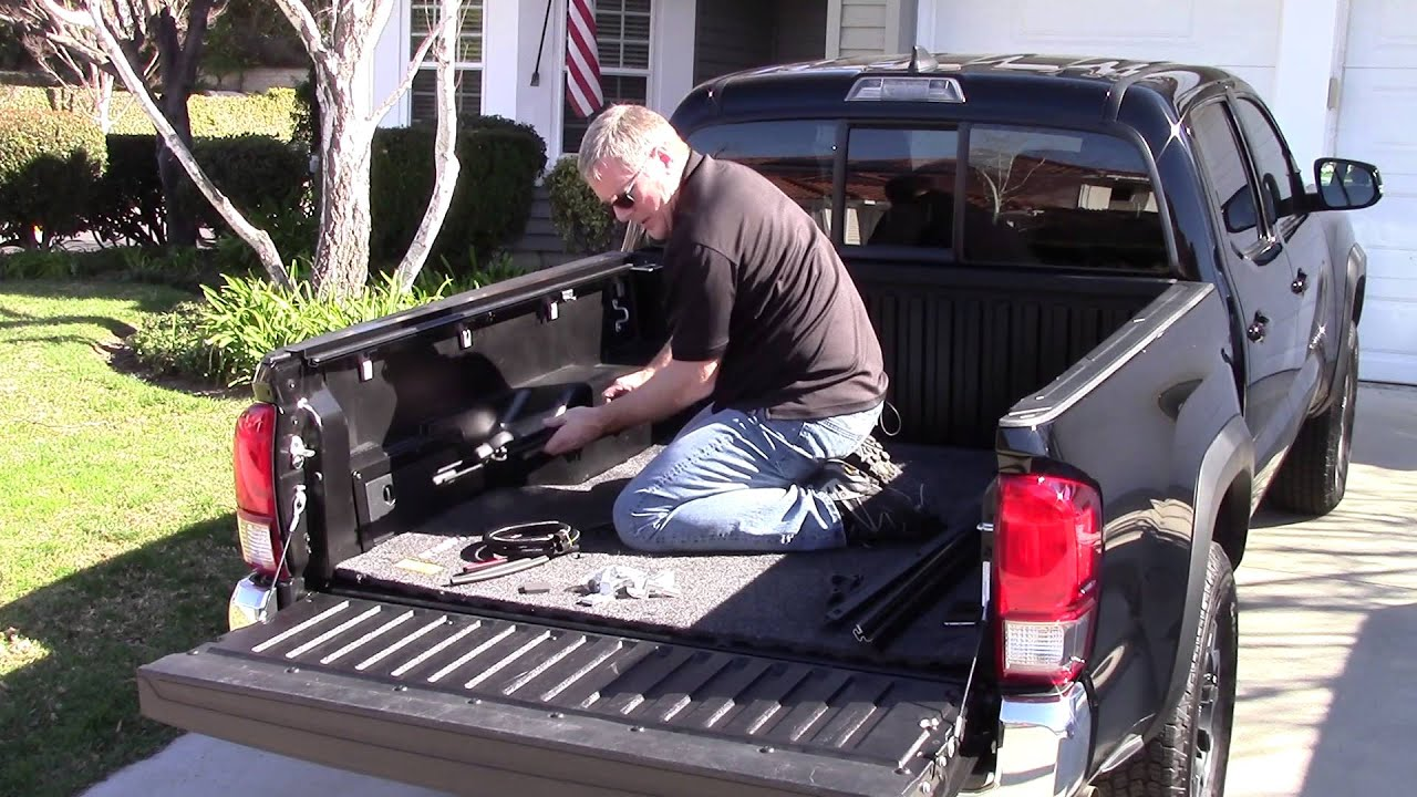 Bakflip Installation On 2016 Toyota Tacoma Youtube