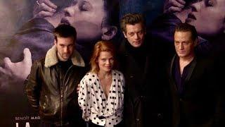 Benoit Magimel, Benjamin Biolay, Melanie Thiery and more at Douleur premiere in Paris