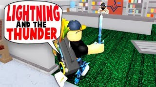 PLAYING MY INTRO SONG ON THE RADIO TROLL!! (Roblox Murder Mystery)