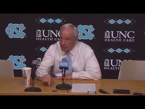 UNC Men's Basketball: Roy Williams Post Wofford Press Conference