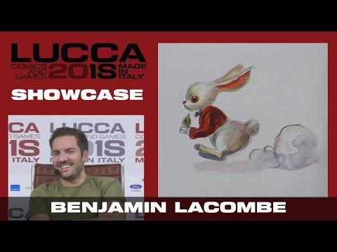 [Lucca Comics & Games] Showcase Benjamin Lacombe