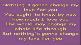 Gambar cover HQ Nothing's Gonna Change My Love For You - Westlife with Lyrics and Audio (320kb) .mpg