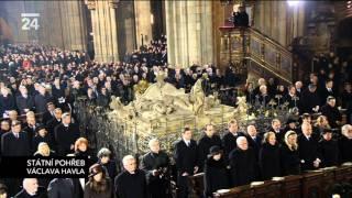 Státní pohřeb Václava Havla - Kde domov můj - State funeral Vaclav Havel - Where Is My Home