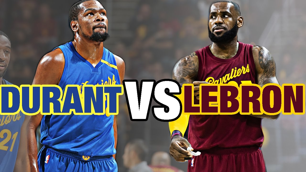 LeBron James VS Kevin Durant Epic Christmas Day Duel | 12.25.16 ...