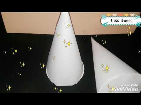 Como hacer un cono en cartulina f cil y r pido how to for Como puedo hacer un cono
