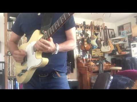 Allen Hinds- Blues Improvisation On a Telecaster Guitar