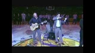 Los Angeles Lakers National Anthem ~ John Scott Evans & Mathias Chaidez (Ten String Dream)
