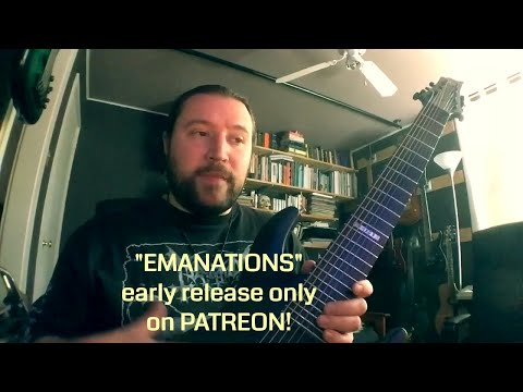 """Jason Aaron Wood: new album """"Emanations"""" (releasing a month EARLY on Patreon!)"""