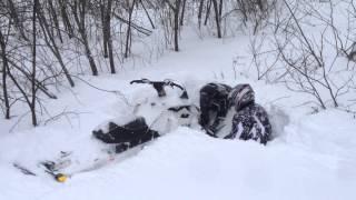 Покатушки на снегоходах в Башкирии!