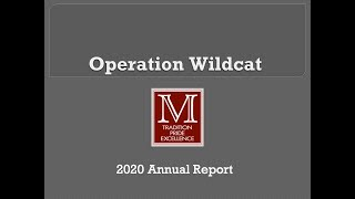 Operation Wildcat Annual Report 2020