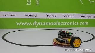 Robot seguidor de linea de bajo costo