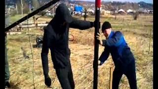Вкрутка винтовых свай дрелью  Кемерово ММК