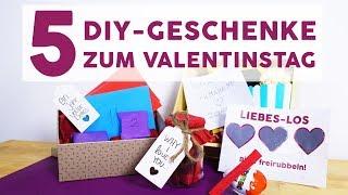 5 DIY-Geschenke zum Valentinstag