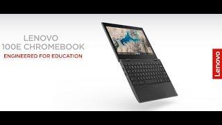 Lenovo 100E Chromebook 2ND Gen Laptop, 81QB000AUS, Black