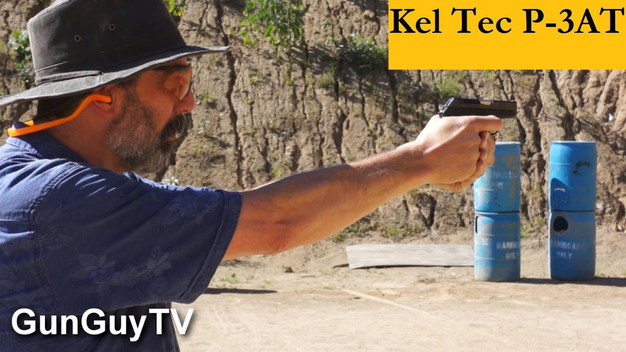 A great pistol for concealed carry - Kel Tec P3AT