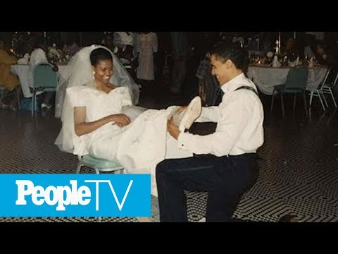 Michelle Obama Shares Throwback Photo From Wedding To Barack: 'We're Still Having Fun' | PeopleTV