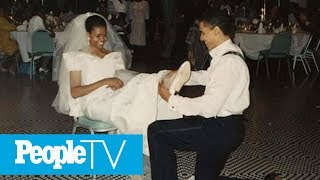 Michelle Obama Shares Throwback Photo From Wedding To Barack: