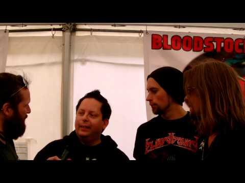 Bloodbound Interview - Bloodstock Festival 2013