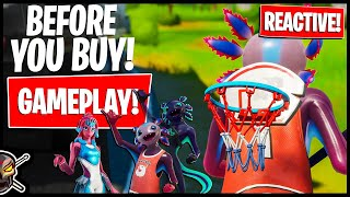 AXO and BRYNE Gameplay! REACTIVE TESTS!  Before You Buy (Fortnite Battle Royale)