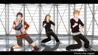 Hetalia: Moves Like Jagger~ England, Japan and America/US (Downloads in descrip)