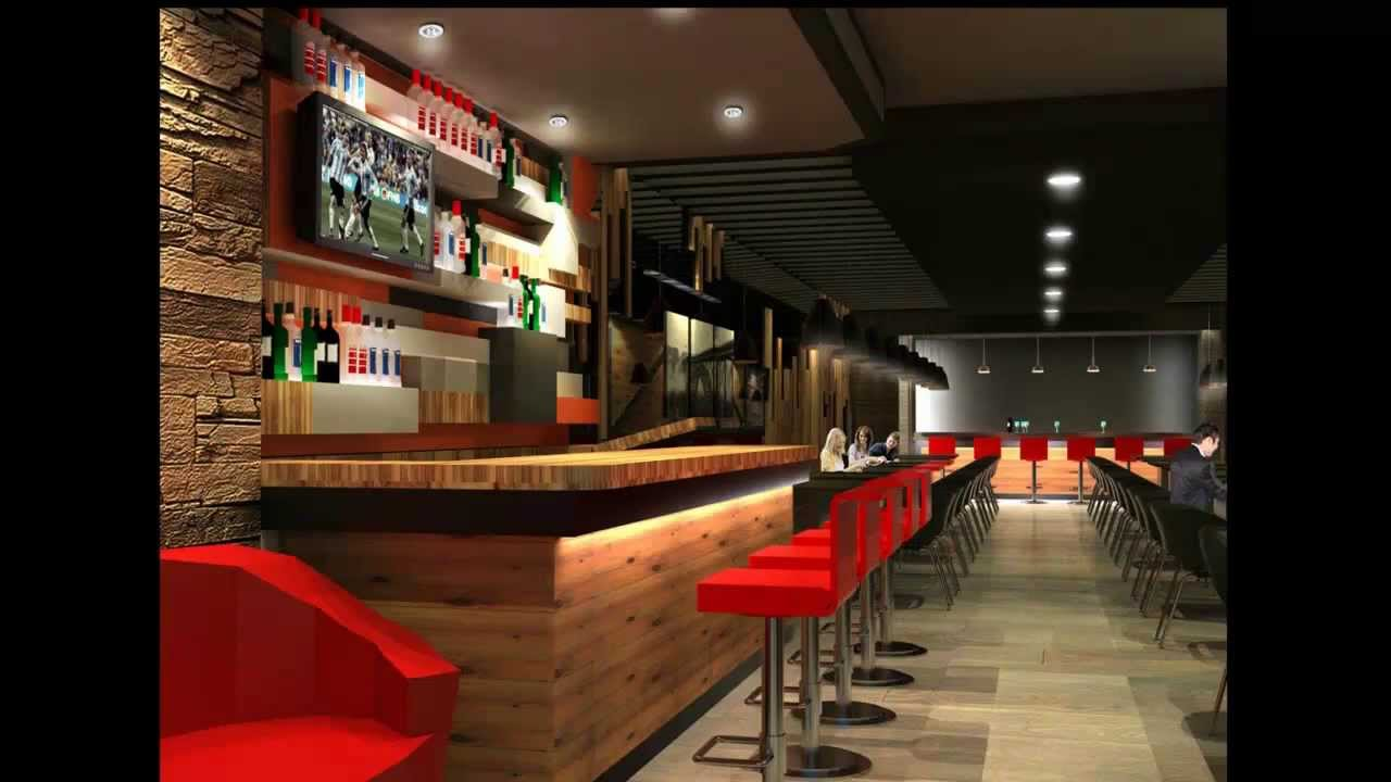 Trendy Steak House Interior Design - YouTube