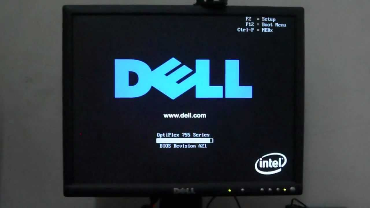 Dell Optiplex 755 Booting And Shutdown Youtube