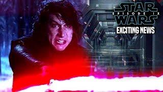 Star Wars Episode 9 Kylo Ren Exciting News & More! (Star Wars News)