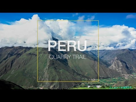 Let's Hike the Quarry Trail in Cusco, Peru | Travel Video with a Drone Part II