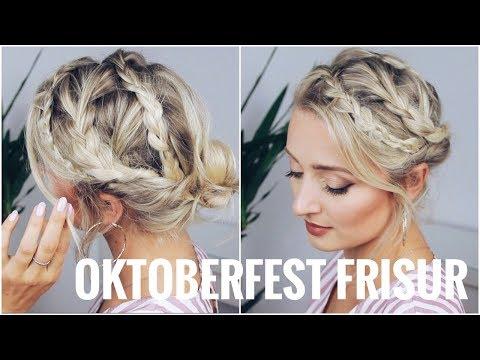 OKTOBERFEST FRISUR - sehr leicht, für kurze und lange Haare   OlesjasWelt