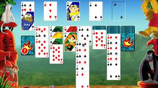Apple Macintosh Longplay - Burning Monkey Solitaire 3 - Klondike - Lose