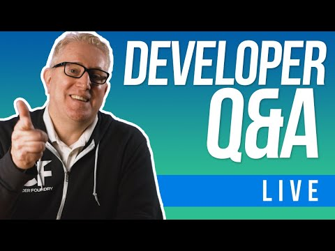 Web Developer Chat + Q&A